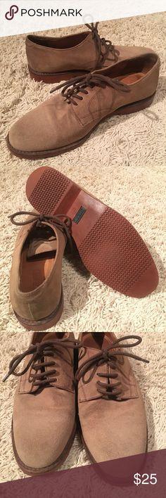 Land's End Leather Shoes Land's End Size 8 men's shoe Made in Brazil Lands' End Shoes Oxfords & Derbys