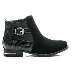 Fashionable women's boots with buckle http://cosmopolitus.eu/product-eng-43218-Fashionable-womens-boots-with-buckle.html #womens #shoes #autumn #practical #shoe #Workery #elegant #comfortable