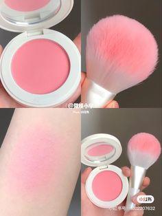 Korean Makeup Brands, Korean Eye Makeup, Asian Makeup, Fancy Makeup, Cute Makeup Looks, Peach Makeup, Makeup Makeover, Flower Hair Accessories, Blushes