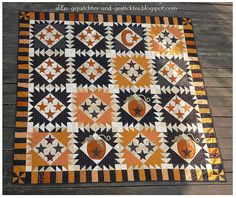 Halloween quilt-would so love  to try this but it's way beyond what I can do