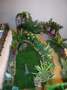 Mediterranean Villa 1:12 scale Doll House - 2009 | Nature's Soul Miniatures