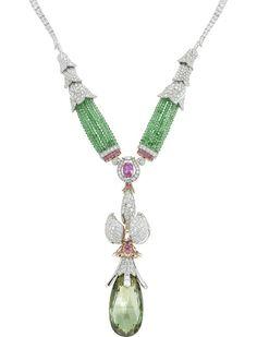 Van Cleef & Arpels Vesna necklace, The Rite of Spring ballet, Ballet Precieux collection.