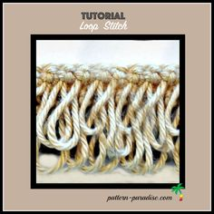 Learn how to make crochet loop stitches and add some fun to your projects.