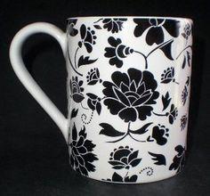 corelle stoneware   love black and white