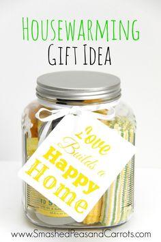 Housewarming Gift Idea-this is so cute!