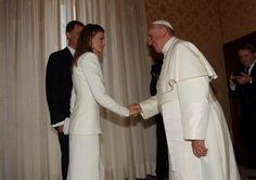 El Papa Francisco recibe a Don Felipe y Doña Letizia