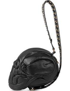e11948cdb6 AMBUSH Black Gold Grommet Strap Skull Bag Model Picture Hypebeast Store