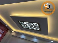 Dumbfounding Useful Tips: False Ceiling Corridor Interior Design false ceiling corridor interior design.False Ceiling Bedroom Interiors false ceiling design with wood. Pop Design, Ceiling Lights, Ceiling Design, Diy Ceiling, Suspended Ceiling, Colored Ceiling, Ceiling Beams, False Ceiling, Living Room Designs