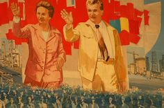 Propaganda from Nicolae and Elena Ceausescu's era in Romania Caryl Churchill, Romanian People, Communist Propaganda, Art Vintage, Communism, Interesting History, Vintage Travel Posters, Eastern Europe, Mammals