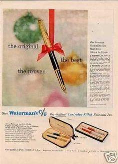 Waterman C/f Fountain Pen (1957)