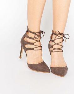 Truffle Collection Nova Ghillie Heeled Shoes