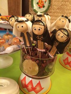 Arabian Nights Party cake pops!  See more party ideas at CatchMyParty.com!