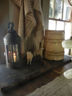Soft grouping of primitive items. Both needful but decorative.