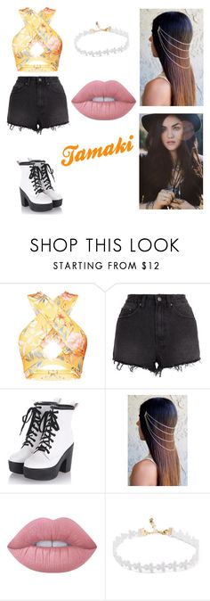 """""""Tamaki"""" by lilibessa on Polyvore featuring Ksubi and Lime Crime"""