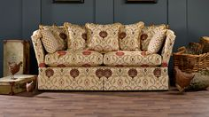 Knowle sofa with drop down sides