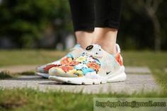 pretty nice a26cc 23b3f Real Girl WMNS Nike Sock Dart lightning Floral Multicolor White Gree Glow  On Feet Nike Sock Dart Wholesale