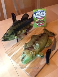 Coolest Fish Shaped Cake... Coolest Birthday Cake Ideas