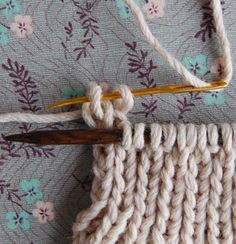 A better bind off? Purl Bee tutorial