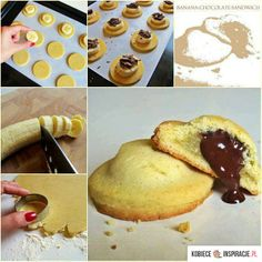 Ciasteczka z bananami i czekolada - Kobieceinspiracje.pl