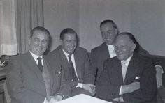 LSSAH Veterans: Kurt Meyer, Sepp Dietrich, Otto Günsche, and Joachim Peiper