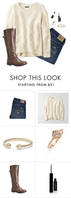 """""""My lighthouse"""" by laurenemcclain ❤ liked on Polyvore featuring Abercrombie & Fitch, American Eagle Outfitters, David Yurman, Kendra Scott, Avenue and Givenchy"""