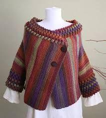 casaco feminino trico multicolorido - Pesquisa Google