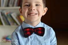 Ravelry: Plaid Bow Tie pattern by Bethany Dearden
