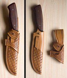 voici donc le couteau à habiller, un plendide couteau de chasse.voici maintenant l'habit que je lui ai confectionné et noël c'est occupé de...