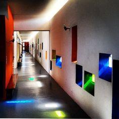 LC pasillo interior unidad de habitacion de marsella