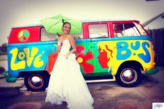 Wedding photography in Cocoa Beach Vintage Surfer Themed Wedding
