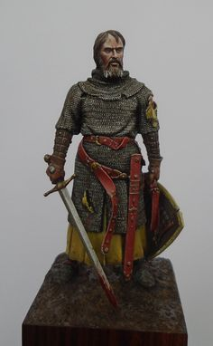 Medieval Knight, Medieval Armor, Skins Characters, Lord Of War, Lead Soldiers, Scale Art, Military Figures, Medieval Costume, Barbarian