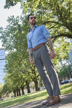 Estilo masculino: Jared Acquaro | Mais 20 minutos