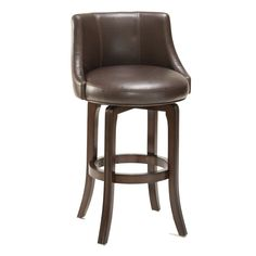 Hillsdale Napa Valley 30 in. Swivel Bar Stool - Brown Leather Seat - Add a cozy, retro touch to your kitchen, bar or rec-room with this Hillsdale Napa Valley Swivel Bar Stool - Brown Leather Seat. Napa Valley, Brown Bar Stools, Cool Bar Stools, Swivel Counter Stools, Counter Height Stools, Kitchen Stools, Kitchen Dining, Leather Swivel Bar Stools, Kitchen Decor