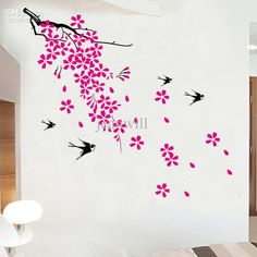 wall murals cherry blossom - Google Search
