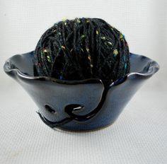 knitting bowl #pottery #giftideas #knitting