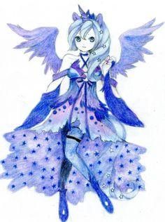 MLP: Princess Luna by ButterflyWingies.deviantart.com on @deviantART