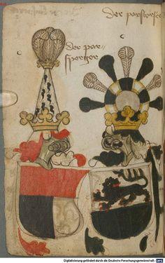 Ortenburger Wappenbuch Bayern, 1466 - 1473 Cod.icon. 308 u  Folio 162v