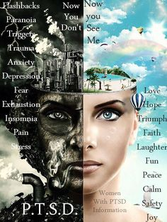 Women with PTSD information on facebook https://www.facebook.com/womenwithposttraumaticstressdisorderinformation/photos/a.288366531304716.1073741828.288282771313092/372046522936716/?type=1&theater