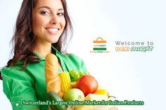 Looking for the top class Switzerland's Largest Online Indian Grocery Shopping Store Situated in Zurich.