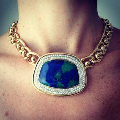 Vintage World Necklace | Vintage David Webb Jewelry