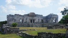 Only the nobility of the Mayan culture could live in the Palace of Tulum.