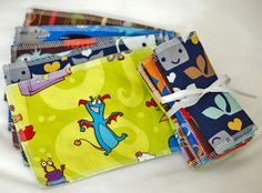 Free Shipping  Little Tissues  Reusable Hankies for by mamamade, $9.50