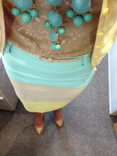 Work outfit for spring