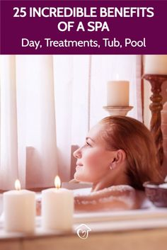 25 Incredible Benefits Of A Spa (day, Treatments, Tub, Pool) There are so many incredible benefits of a spa day. The treatments, pool, hot tub, jacuzzi, bath, sauna, and steam room all work wonders for your health. Diy Beauty, Beauty Tips, Beauty Hacks, Jacuzzi Bath, Home Spa Treatments, Dark Circles Under Eyes, Spa Day At Home, Steam Room, Spa Party