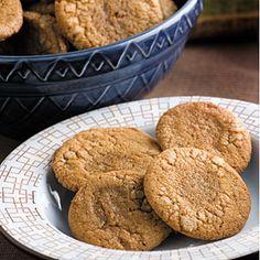 Grandma's Molasses Crinkles Recipe | MyRecipes.com