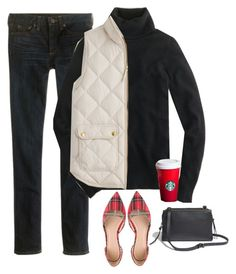 """""""Untitled #1448"""" by kittywitty ❤ liked on Polyvore featuring J.Crew and Madewell"""