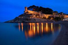 Tossa de Mar, Spain,