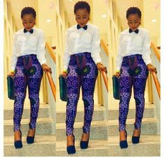 Love those pants! #african fashion