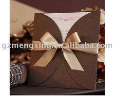 Café de pétalos de invitaciones de boda con el arco - - - - - - - pa096