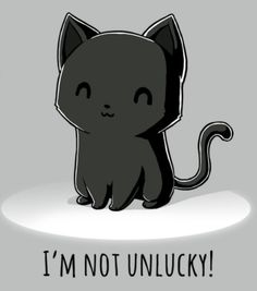 Black kitties are beautiful!